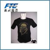 T-shirt redondo do colar/t-shirt feito sob encomenda/t-shirt dos homens
