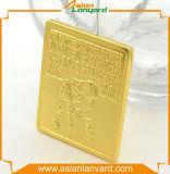 монетка возможности металла 3D с мягкой эмалью