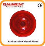 Unità di allarme visiva indirizzabile del segnalatore d'incendio di incendio, colore rosso (640-003)