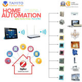 Smartphone를 가진 Zigbee와 WiFi Smart Home Automation Kit 또는 Controller/System