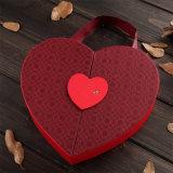 주문 서류상 공상 초콜렛은 자물쇠를 가진 도매 심혼 모양을 상자에 넣는다