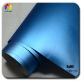 Selling caldo 1.52*20m Metal Brushed Matte Chrome Vinyl Car Foil con RoHS
