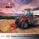 Caricatore della rotella del macchinario di costruzione di Qingdao Everun Er16 mini da vendere