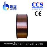 Fio de cobre 0.8mm de Aws A5.18 Er70s-6 MIG