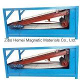 Piatto-Tipo separatore magnetico di pendenza di serie di Btpb 1800*2400 l'alto per minerale metallifero debolmente magnetico e rimuove il ferro dal minerale metallifero di Non-Matallic