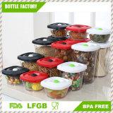 Memoria più croccante di conservazione fresca di plastica BPA di memoria Container/PS dell'alimento della casella di memoria di refrigerazione libera