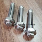 Boulon d'anchrage d'expansion de partie métallique de l'acier inoxydable A4-70