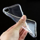Anti tampa transparente de queda Ultrathin da caixa do telefone móvel TPU com pontos para dentro para o caso 6s do iPhone 6 do iPhone 5/5se
