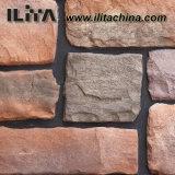 人工的な石造り文化石塀のタイルの城の石(YLD-80035)