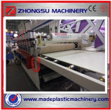 Máquina de extrudado de la placa de la corteza del PVC que hace espuma