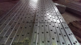 38X25X1.6mm Valla Perforado Rail Tubo