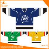 Jersey sublimés par teinture de hockey sur glace d'impression de Mens de mode de Healong