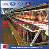 Gaiola da galinha da franga com equipamento de levantamento automático
