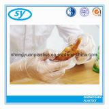 Перчатки устранимого PE безопасности прозрачные пластичные для еды