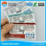 Cartão de chamada pagado antecipadamente do risco cartão de papel Multi-Pin do risco