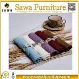 Le polyester professionnel 17*17 de fabrication avance la serviette petit à petit de tissu de mariage
