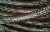 Alta calidad de la fibra trenzada manguera hidráulica SAE 100 R3