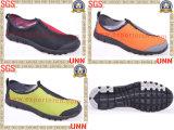 Chaussures de toile en caoutchouc d'Outsole de maille (SD9056)