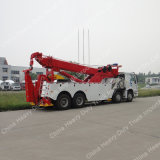 HOWO 8X4 도로 구조차 트럭 견인 트럭 복구 트럭