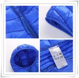 Uniq наиболее наилучшим образом вниз с способа теплой прокладки куртки тельняшки куртки вниз на студенты 602 детей