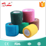 Premium Variety of Colors 5cm Coban Covesive Bandage Athletic Support Tape Rolls