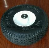 10X 3.50-4 3.50-6 gomme libere piane del camion di mano della gomma piuma dell'unità di elaborazione