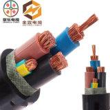 0.6/1kv Yjv 4X50+1X25 XLPE a isolé le câble d'alimentation de cuivre ignifuge de faisceau engainé par PVC