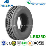 Smartway (11R24.5)를 가진 Loadrunner All Steel Radial Truck Tyre