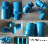 Tailândia Standard Plastic UPVC Pipe Fittings em Blue Colour