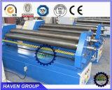 W11F-6X2000 de asymmetrische Mechanische Rolling Machine van de Plaat van het Metaal van Drie Rollen,