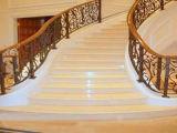 Qualité coupée pour classer le fournisseur de marbre d'escalier