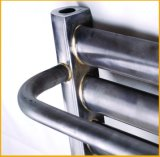 Wohle Verkaufs-Wasser-Erhitzte ovale Stahlspalte-Tuch-Schiene (Nr. WYG50*25)