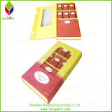 Rigid de dobramento Paper Packaging Tea Box com Window