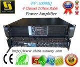 Fp10000q 2 ohms de amplificador audio estável, amplificador de poder quente de 2015 vendas