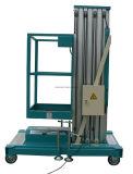 Alumínio do preço de fábrica de Henan que eleva a plataforma de trabalho hidráulica para levantar