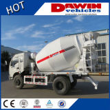 3-6m3 LHD of Rhd Small Concrete Mixer Truck