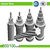 cabo de alumínio isolado XLPE do ABC do fio 4X50 mm2 do PVC de 0.6kv 1kv