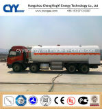 30cbm Lox; 린; ASME GB Standards를 가진 LNG Cryogenic Semi Trailer