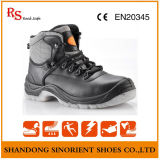 Feito em sapatas de segurança pretas do martelo de China melhor