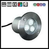 セリウム、RoHS IP65の庭RGB LEDの地下ライト