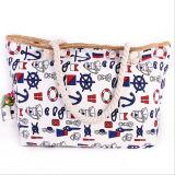 Canvas National Wind Ladies Shoulder Bag Trend Ladies Beach Bag
