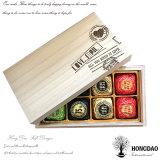 Rectángulo de madera de lujo de encargo del caramelo de chocolate de Hongdao para el regalo pila de discos el _E del rectángulo de madera