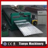 Aluminiummetallblatt-Furchung-Rolle, die Maschine bildet