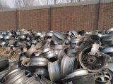 元の工場からのアルミニウム車輪のスクラップ