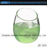 Einzelnes Cup-Glasflasche für Rotwein und Getränk