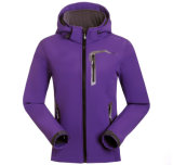 바위 Moutaineering Breathable 직물 옥외 연약한 쉘 재킷