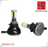 Farol 9005 do diodo emissor de luz do carro do FCC RoHS Ceritification G5 do Ce 9006 luz do diodo emissor de luz do bulbo 40W 80W do diodo emissor de luz
