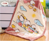 Cobertor macio super do bebê de Raschel da alta qualidade (SR-BB170301-15)