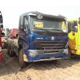 Hochleistungs10 Traktor-LKW des Geschäftemacher-Schlussteil-Kopf-6X4 420HP HOWO A7