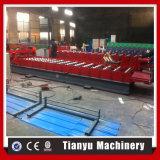 Les certificats de la CE ont glacé le roulis de tuile de toit de couleur de tôle d'acier formant la machine